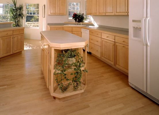 1st Grade Maple Natural Hardwood Flooring