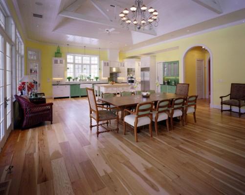 Indiana Hardwoods-Carmel Select Better Hickory Wide Plank