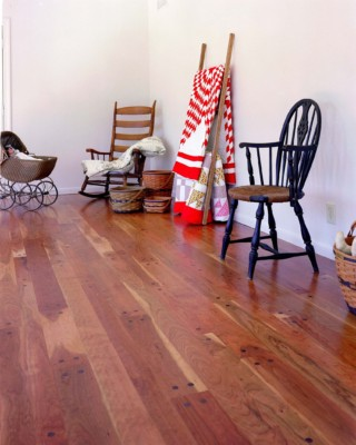 Indiana Hardwoods-Plainfield wide plank Select Better Cherry