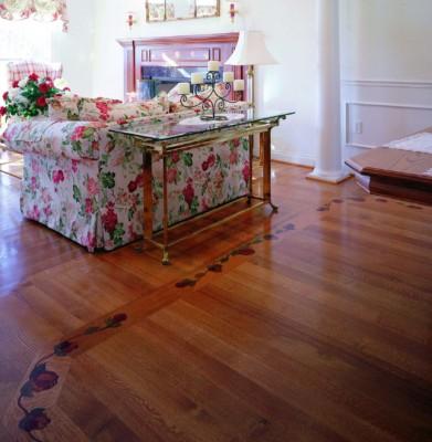 IndianaHardwoods-Red Oak Custom Inlay