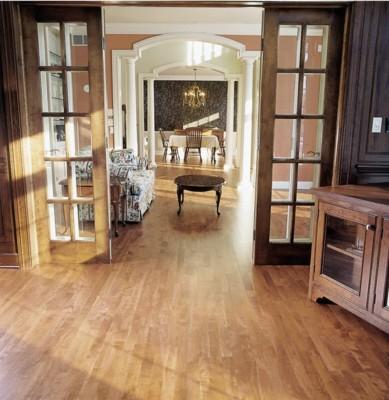 Common Walnut Light Stain - Classic Wood Floors