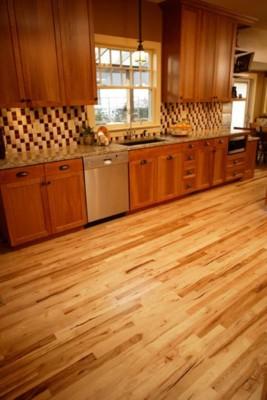 Common Walnut Light Stain Hardwood Flooring