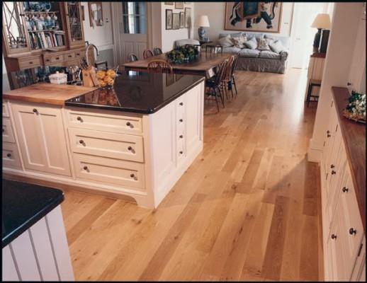 Common White Oak Natural Hardwood Flooring