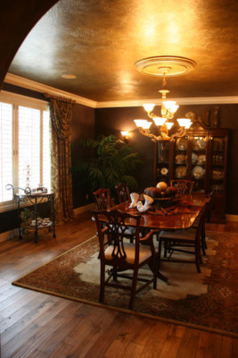 Rustic Hickory Medium Stain Flooring