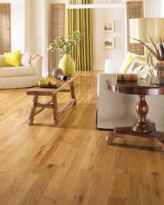 Character White Oak Hardwood Flooring