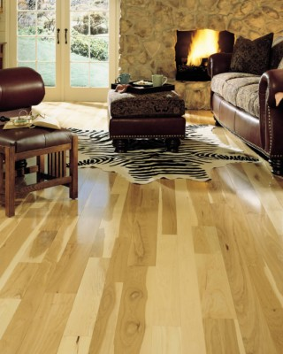 Specialty Hickory Natural Hardwood Flooring
