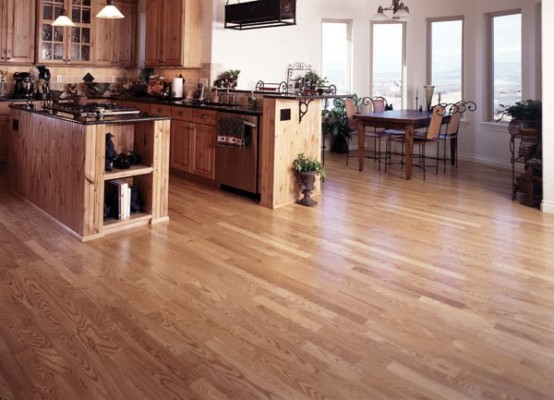 Select Ash Light Stain Hardwood Flooring