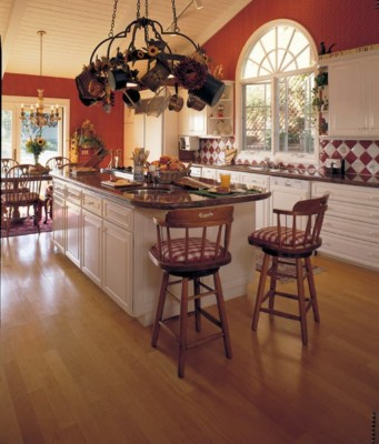 Select Maple Natural Hardwood Flooring