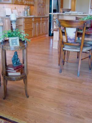 Select White Oak Medium Stain Hardwood Flooring