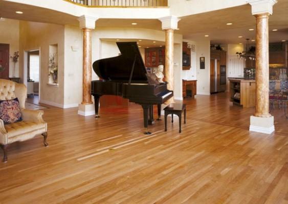 Select White Oak Natural Hardwood Flooring