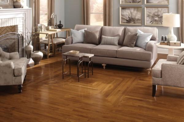 Color Strip Collection Gunstock Room Hardwood Flooring