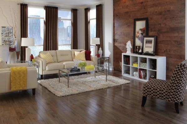 Color Strip Collection Smoke Room Hardwood Flooring
