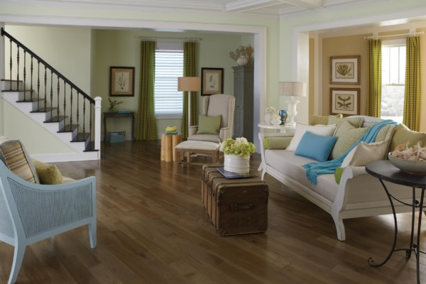 Specialty Collection Hickory Moonlight Room Hardwood Flooring