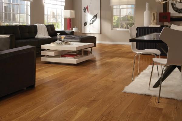 Wide Plank Collection Natural White Oak Hardwood Flooring