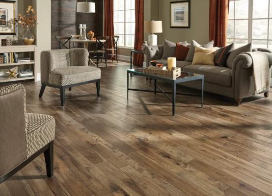 Winter Wheat Hickory Hardwood Flooring