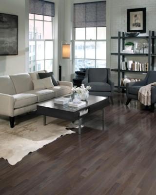 HS Charcoal Hardwood Flooring