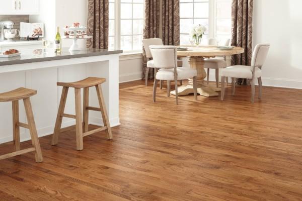 Oak Mountain Brown Hardwood Flooring