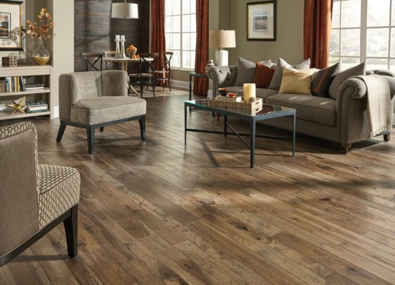 Somerset Hardwood Floors - Winter Wheat Hickory Horiz